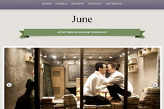 June Blogger Template