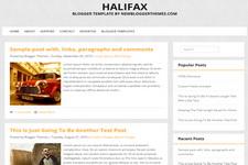 Halifax Blogger Theme