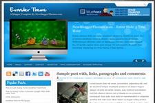 Evander Blogger Theme