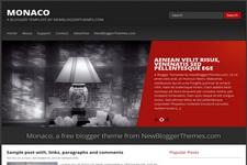 Monaco Blogger Theme