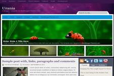 Urania Blogger Theme