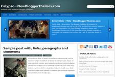 Calypso Blogger Theme