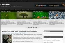 Covenant Blogger Theme