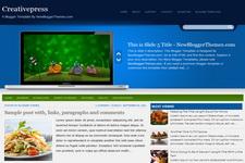 Creativepress Blogger Theme