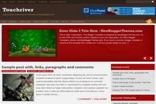 Touchriver Blogger Theme