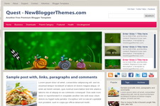 Quest Blogger Theme