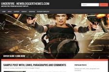 Underfire Blogger Theme
