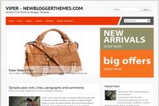 Viper Blogger Theme