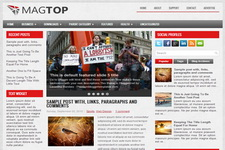 MagTop Blogger Theme