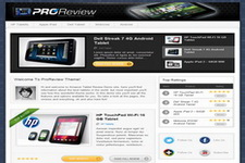 Pro Review WordPress Template