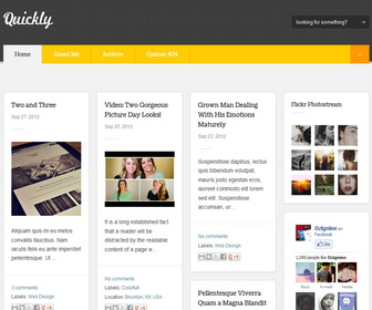 pro photo blog templates - download professional premium dan fast loading templates