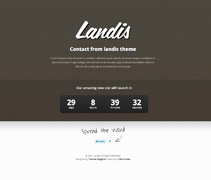 Brown Theme - Landis