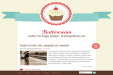 Buttercream Blogger Theme