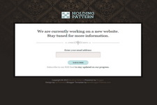 Holding Pattern Blogger Theme
