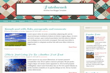 Patchwork Blogger Theme
