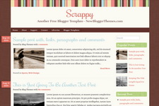Scrappy Blogger Theme
