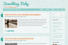 Something Fishy Blogger Theme
