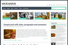 Oceanus Blogger Theme