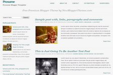 Prosume Blogger Theme