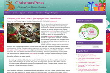 ChristmasPress Blogger Theme