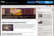 iBlogger Blogger Theme