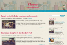 Cheer Blogger Theme