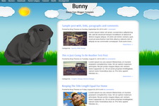 Bunny Blogger Theme