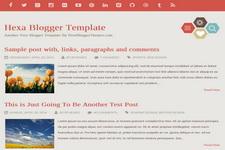 Hexa Blogger Theme