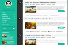 Writr Blogger Theme